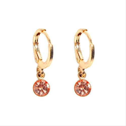 Star Moon Hoop Earrings For Women Gold Small Eyes Tiny Huggie Charm Hoops Earrings With Rhinestones Minimalist Jewelry
