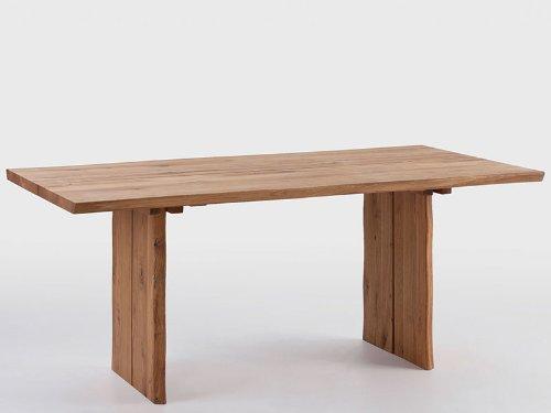 Esstisch Baumtisch Oviedo Wildeiche massiv 160 cm