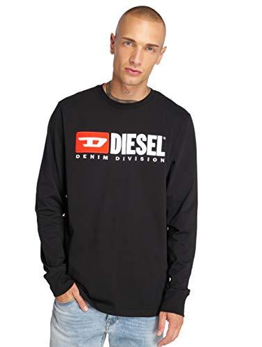 Diesel 00SLJY Camiseta, Negro (Negro 900), Small (Tamaño del Fabricante:S) para Hombre