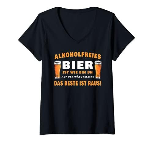 Damen Alkoholfreies Bier ist wie ein BH...