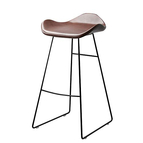 FYMDHB886 Barkruk Hoge kruk Make-upkruk Lederen eetkruk Multifunctionele counterkruk loungestoel Enkele fauteuil Onderhandelingsstoel, Size, A