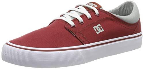 DC Shoes Trase TX, Zapatillas de Skateboard para Hombre, Rojo (Dark Red DKR), 44 EU