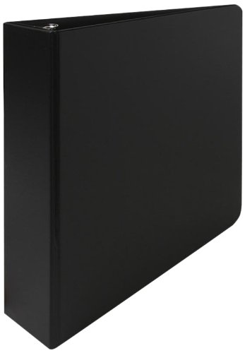 Sparco 3-Ring Binder, 2-Inch Capacity, 11 x 8-1/2 Inches, Black (SPR03501)
