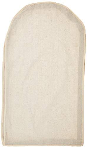 Whitmor 6082–2716Natural Linen Soft Storage Garment Bag Porta Abito Beige