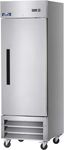 Arctic Air AR23 Refrigerator | One Section Reach-in, Commercial | 23 cu. ft, Stainless-Steel