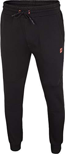 4F Pantalones de chándal para Hombre Fin, Hombre, Pantalones de Correr, H4Z20-SPMD012-20S, Deep Negro, Small
