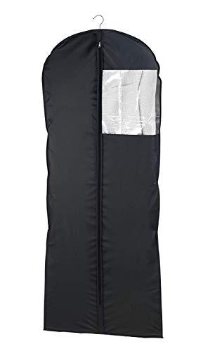 WENKO Kleidersack Deep Black 60 x 150 cm - Kleiderhülle, Polyethylen-Vinylacetat, 60 x 150 cm, Schwarz