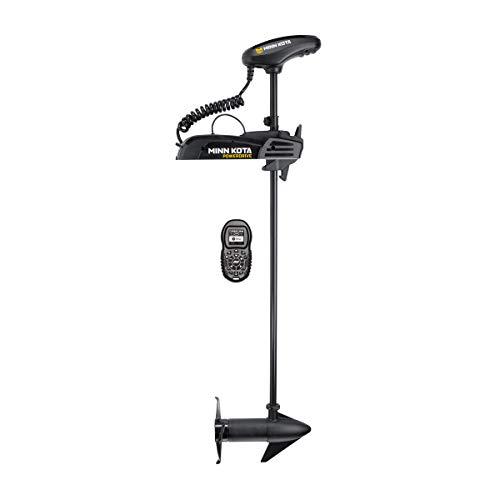 Minn Kota 1358731 PowerDrive Freshwater Electric-Steer Bow-Mount Trolling Motor with Digital Maximizer & i-Pilot GPS, 70 lbs Thrust, 54' Shaft