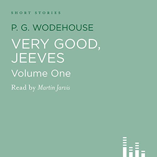 Very Good Jeeves, Volume 1 audiobook cover art
