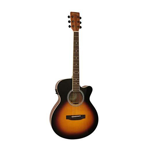 Santana ST-100EQCW HG SL SB v2 Mini Jumbo - Guitarra de estrella