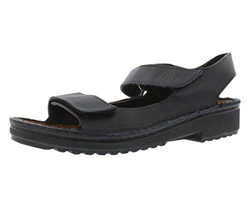Naot Footwear Women's Karenna Black Matte Lthr Sandal 8 M US