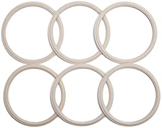 iLIDS Gaskets, Wide Mouth, Made in USA, 6-Pack