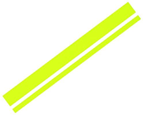Foliatec 33927 Car Design Sticker Lines, neon gelb, 5, 8 x 360 cm