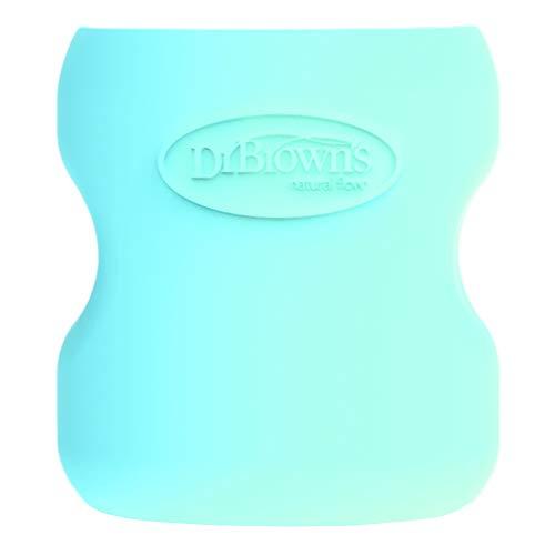 Dr Brown's Options - Funda para botella de cristal, 150 ml, color azul