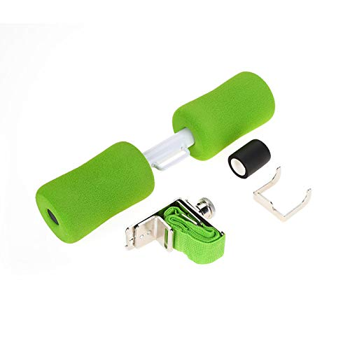 DAUERHAFT Barra para Sentarse Materiales de Calidad Resistentes al Desgaste Equipo para Sentarse antioxidante, para Amantes de los Deportes(Green)