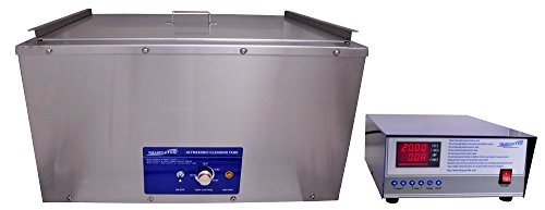 "SharperTek SH1200-18G-D Large Heated Ultrasonic Cleaning System with Sweep, 18 gal, 19"" x 24"" x""9"""
