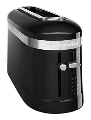 KitchenAid KMT3115OB 2 Slice Long Slot High-Lift Lever Toaster, Onyx Black