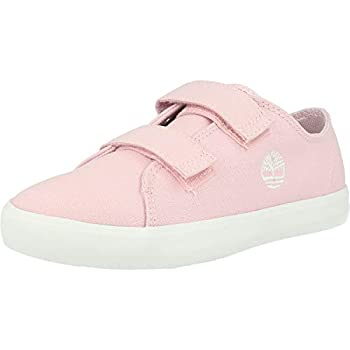 Timberland Newport Bay 2 Strap Oxford Y Light Pink Canvas 2 US Child
