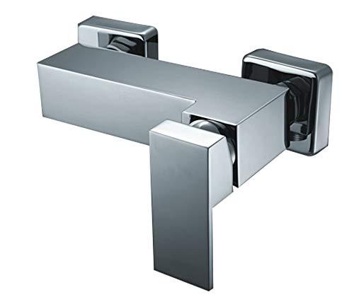 Design Einhebel Dusche Armatur Chrom Hochglanz Sanlingo Manchester