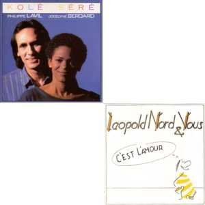 Philippe LAVIL & Jocelyne BEROARD - LEOPOLD NORD et VOUS - Kolé séré - C\'est l\'amour special reissue CARD SLEEVE 6-track CD single