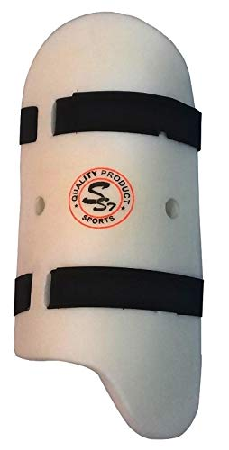 SST Cricket Thigh Guards for Right or Left Hand (White)