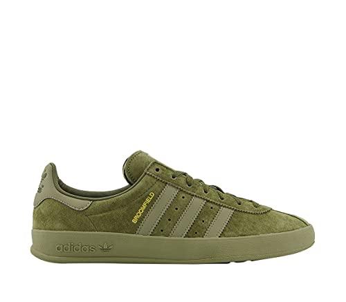 adidas Zapatillas de pista Bd7611 para hombre, Verde Dorado Metálico, 40 2/3 EU