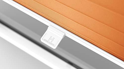 Plissee Orange HOME-VISION - 4