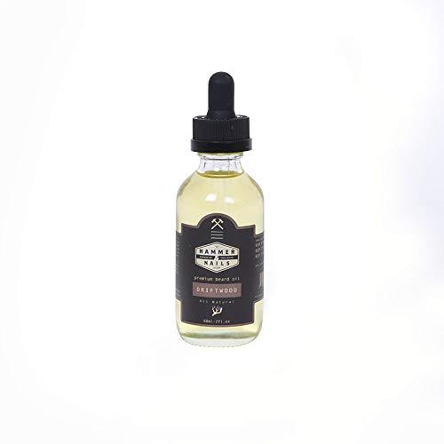 Hammer & Nails Driftwood Beard Oil 2 oz.