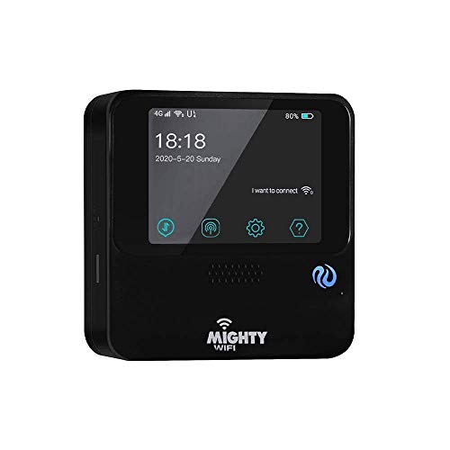 Mobile Wi-Fi Hotspot Device High Speed Wi-Fi Portable Router with US 5 GB & Global 3 GB Data 30 Days, No SIM-Card, Pocket, Free Roaming, Worldwide, Travel, Home