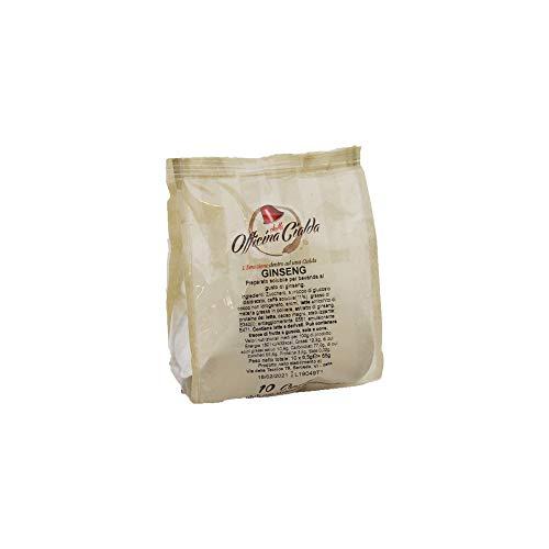 ODC MADE IN ITALY Kit mit 100 Kapseln GINSENG Geschmack Kompatibel mit NESPRESSO Kaffeemaschinen.