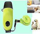 Loopunk Clicker para perros, 2 en 1 – adiestramiento para perros con silbato, clicker para adiestramiento de perros, gatos y pequeños animales.