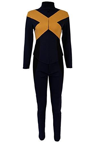 tianxinxishop Mujer Disfraz de Cosplay de Pelicula para Carnaval Halloween Traje de Superheroe Uniforme de Policia Uniforme de Batalla Version 3, M