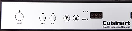 Product Image 3: Cuisinart Double Induction Cooktop, One Size, Black