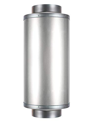 Hon&Guan Silenciador Reductor de Ruido para Ventilador Extractor de Aire en Línea (100mm)