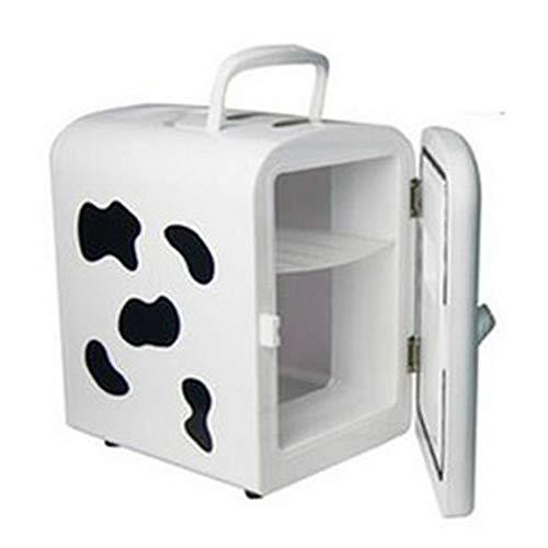 XYBB Mini-koelkast voor auto, 12 V, 7 l, koelkast, vrieskast 250×185×275mm Zoals getoond