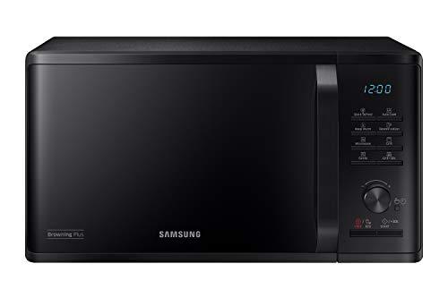 Samsung MG23K3515CK/EG Mikrowelle mit Grill / 800 W / 23 L Garraum / 48,9 cm Breite / Quick Defrost / 27 Automatikprogramme / schwarz