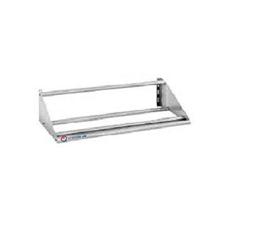 EQ Kitchen Line Heavy Duty Commercial Rack Shelf with Hooks Restaurant, 42-inch
