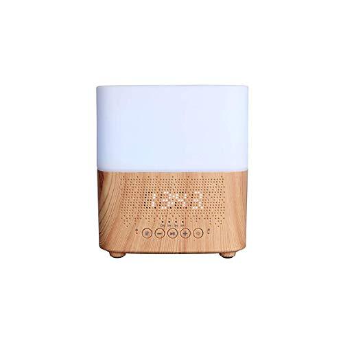 Xiaodong1 Humidificador Plástico Gran capacidad Smart Bluetooth Aroma Difusor de aceite esencial Altavoz Pantalla de tiempo Reloj despertador Sala de estar Dormitorio Oficina Dormitorio Evaporador Hog