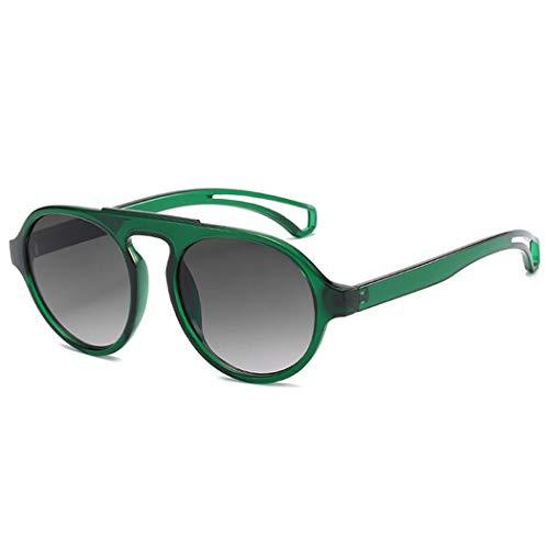 DJDLNK Klassieke ronde zonnebril mannen vrouwen outdoor Uv400 helder montuur zonnebril vintage steam punk zonnebril thee zwart lens