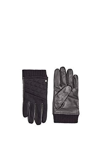 Esprit Accessoires 109ea2r002 Guantes, Negro (Black 001), Medium para Hombre