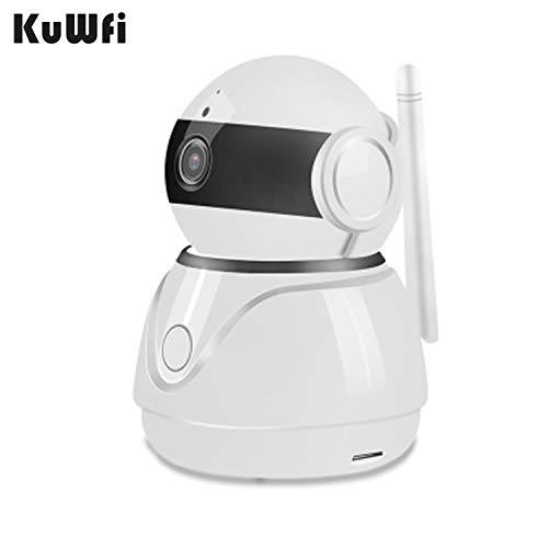 KuWFi WiFi IP-camera, 1080P Draadloze Home Security Camera Cloud Opslag Draadloze Camera WiFi Mobiele Telefoon Afstandsbediening 2 Miljoen HD Netwerkmonitor voor Huisdier/Baby/Oudere/Hond Monitor