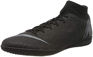 Nike Superfly X 6 Academy Men's Indoor Soccer Shoes (10 D US) Black