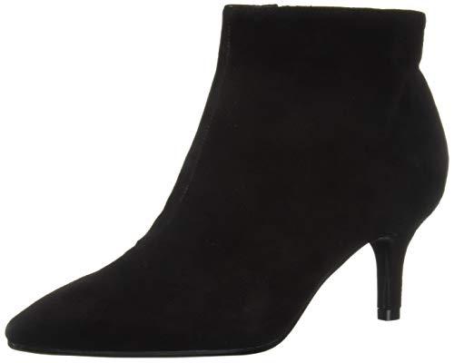 Aerosoles Women's Epigram Ankle Boot, Black Suede, 9.5 M US