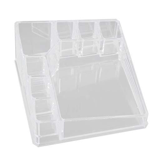 MagiDeal Cosmetic Organizer Acryl Make Up Halter Fall Box Schmuck Aufbewahrungsbox