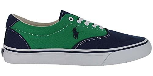 Polo Ralph Lauren Thorton Low Top Lace - Zapatillas deportivas, color Verde, talla 45 EU