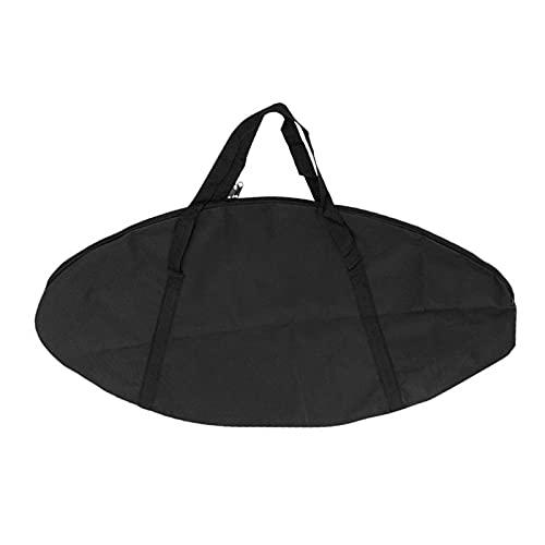 SFWEFWFAFAF Trampolintasche schwarz Oxford Tuch Trampolin Tasche Indoor Trampolin Trampolin Aufbewahrungstasche Geeignet für Fitnessstudio Outdoor Sport Zuhause Aufbewahrung