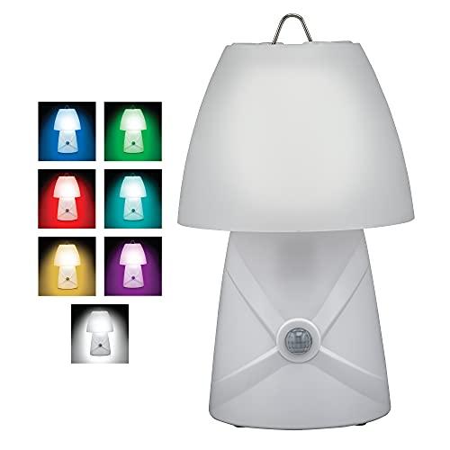 Sensor Brite Dream Glow Night Lamp, Motion Sensing LED Table Lamp, Color Changing RGB LED Lamp, Dimmable LED Desk Lamp
