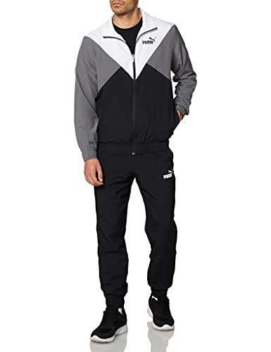 PUMA Herren Trainingsanzug, Puma Black, XL