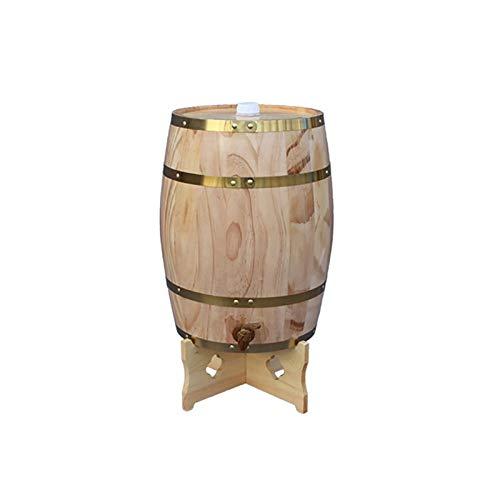 ZHhome Tonneau à vin en Bois Fût...