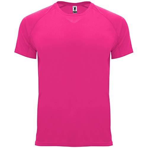 ROLY Camiseta Bahrain 0407 Hombre Rosa FLÚOR 228 M
